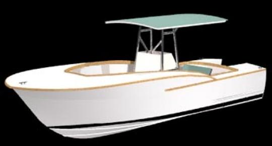 Carolina Sportfish 23 | WoodenBoat Magazine