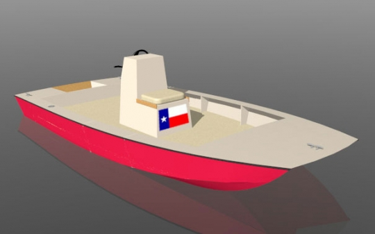 Texas Sled 18 by bateau.com