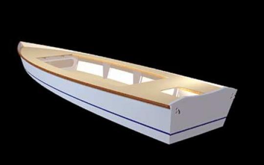 Flats Skiff 18 by bateau.com