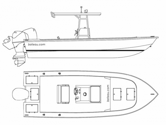 Abaco 23 by bateau.com