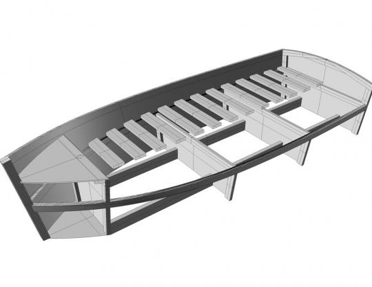 Boat bed single