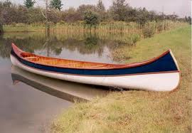 B. N. Morris Canoe in water
