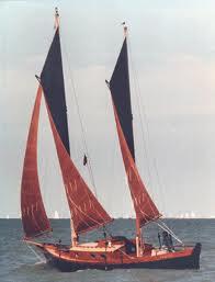 MYSTIC Sharpie sailing