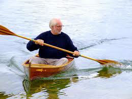 Stickleback Canoe on water