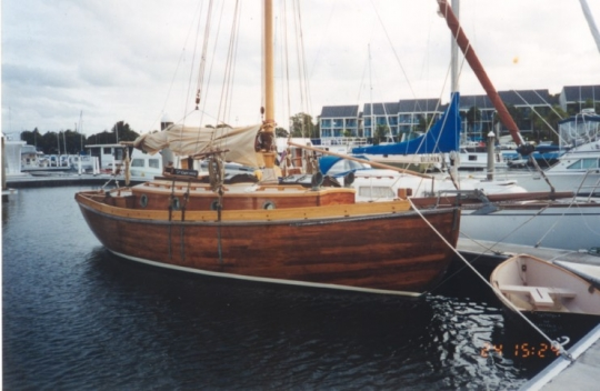 Austral at the dock