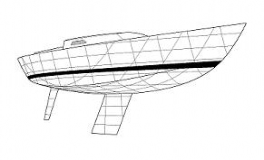 K-39 Bow View