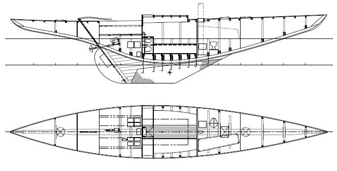 K-8m 48 ft sailing yacht