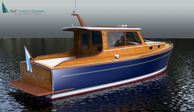 Classic Delta 29 Woodenboat Magazine