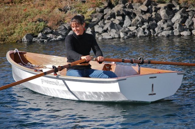 Modern nesting dinghy for cruising from Port Townsend Watercraft