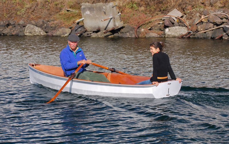 Port Townsend Watercraft, PT 11, 11 ft nesting dinghy kit designed with serious cruisers in mind.