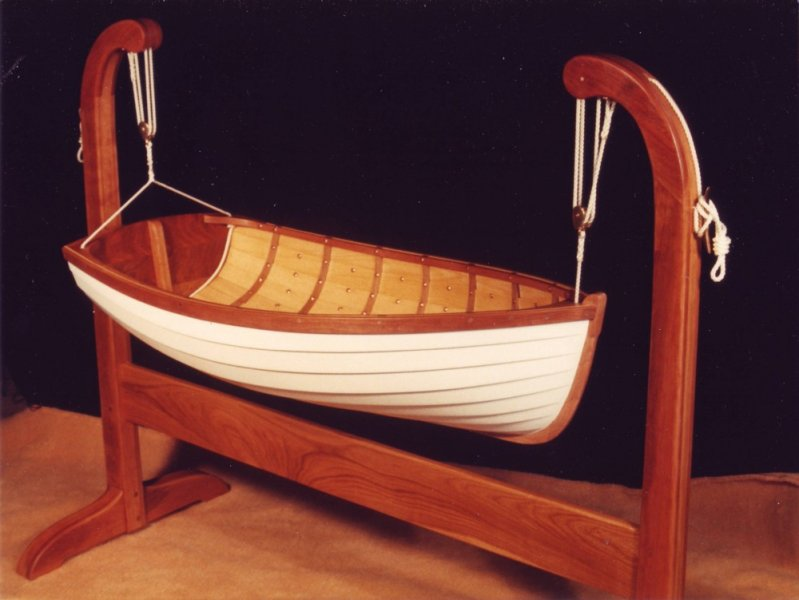 Baby Tender from Jordan Wood Boats