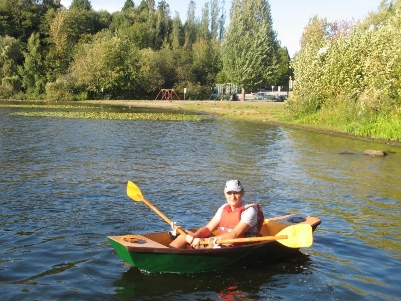 """""""Mighty Mouse"""" - 8'(2.40m) One and a Half Sheet Mini Punt 