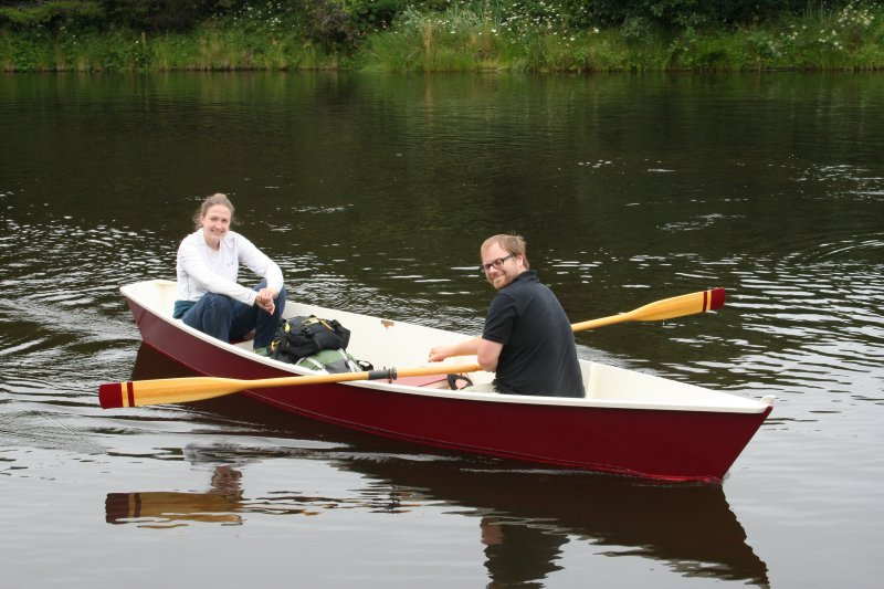 Growler-Transom stern canoe