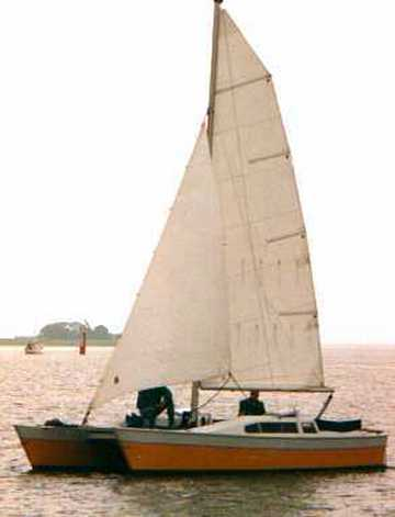Janus sailing catamaran