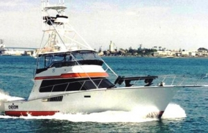 CABO 50 Fiberglass Sports Fisherman