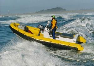 Aluminum Rigid Hull Inflatable (RIB)