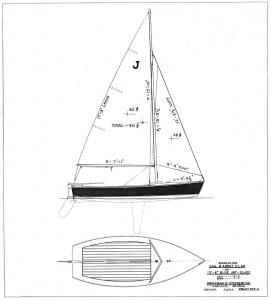 Blue Jay sail plan