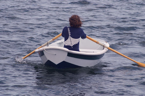 "7' 7""  Nutshell Rowing Kit photo"
