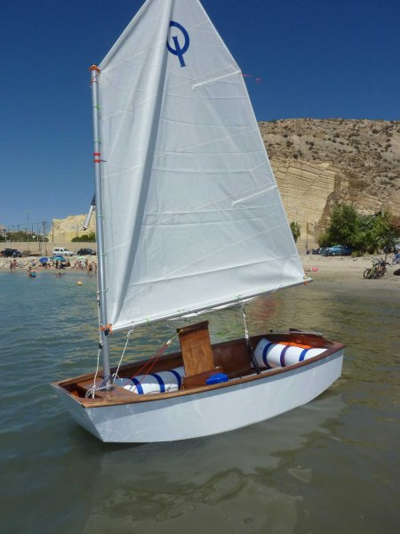 Optimist Dinghy Template Plans | WoodenBoat Magazine