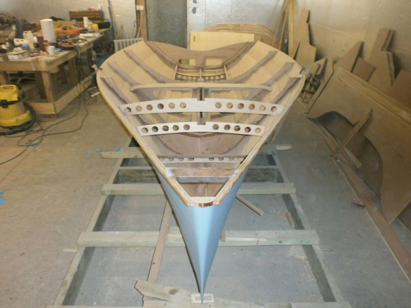 Merlin Rocket Dinghy 'Hazardous' | WoodenBoat Magazine