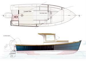 Shrimper presentation drawing