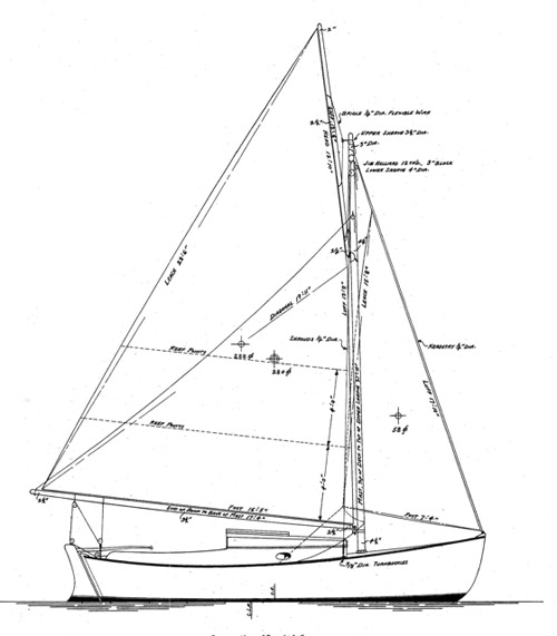 Alden 21' Double-Ender profile