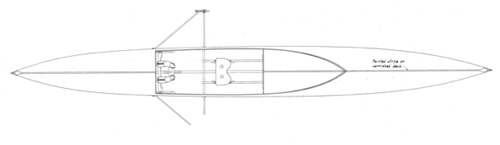 20' Bangor Packet overhead