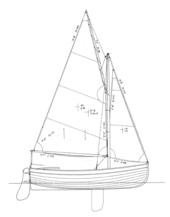"""10' 2"""" OUGHTRED Acorn (Puffin) 