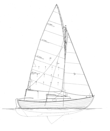 "22' 2"" Cruising Sloop, Gray Seal 