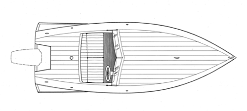 "14' 10"" Runabout, RASCAL profile"