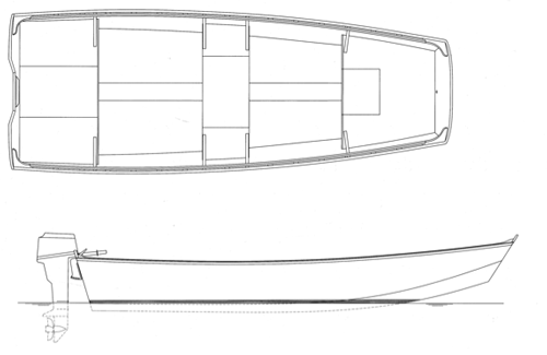 "15' 9"" Garvey, BEN 