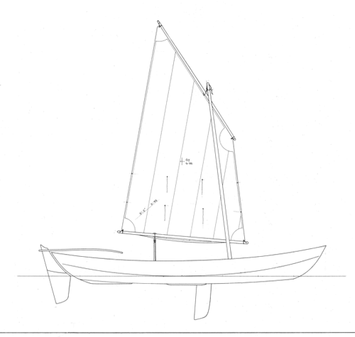 Skerrieskiff 17' profile