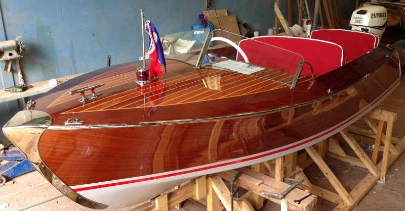 Riva Scoiattolo Replica 1950's | WoodenBoat Magazine