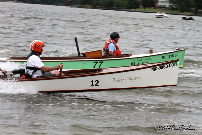 Racing at Tall Timbers Marina