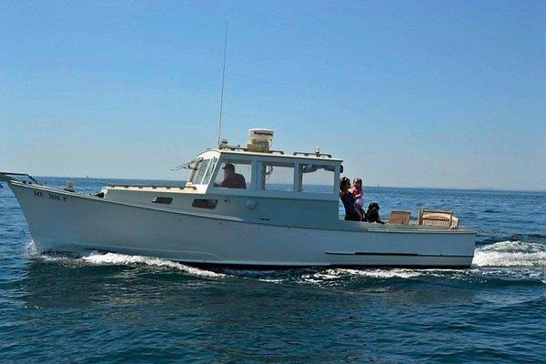 KATY  D - 1958 Willis Rossiter Lobster boat - Port side