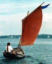 The Norwegian Sailing Pram.