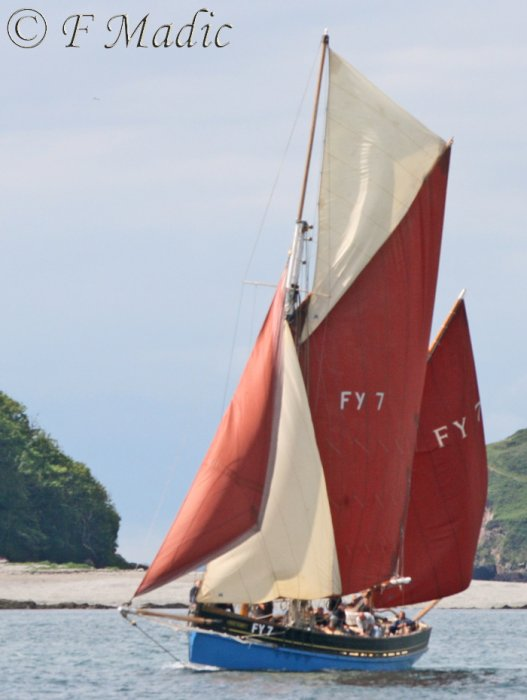 Cornish Lugger