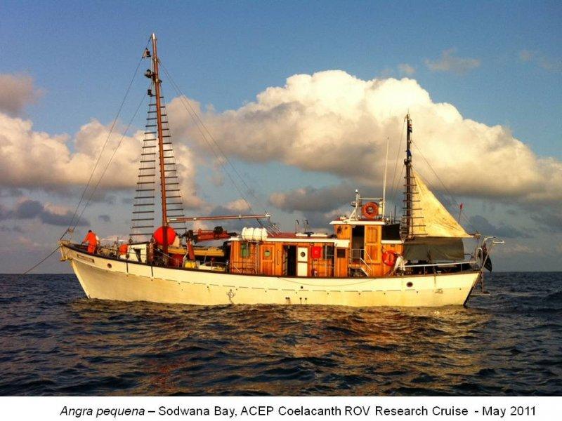 Angra Pequena ROV Coelacanth survey