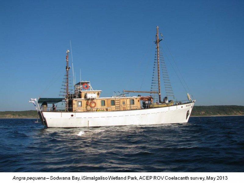 Angra Pequena Coelacanth survey