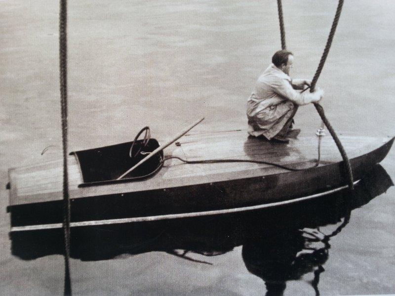 PHANTOM in her first design 1937