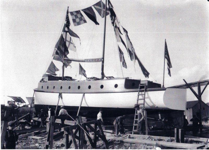 Elizabeth launch 1908