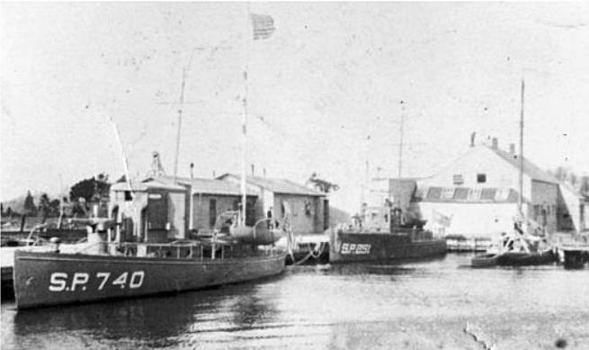 USNRF Section Base Five West Sayville, NY WWI, 1917-1918, photo courtesy Long Island Maritime Museum