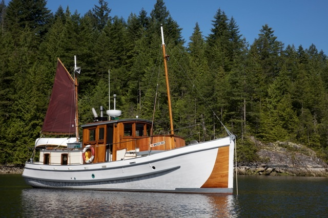 AVE MARIA, ex-BC Mission boat.