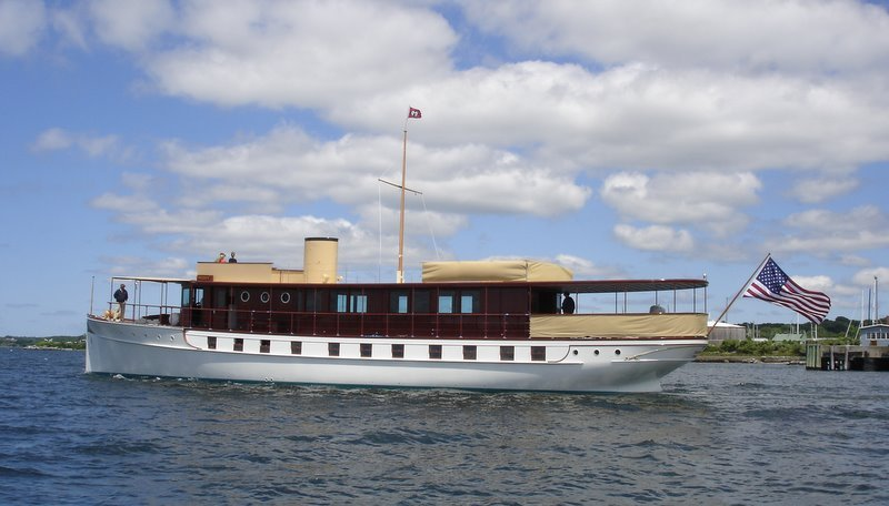 103' Trumpy/Mathis motoryacht FREEDOM.