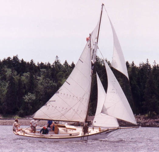 INTEGRITY: Friendship sloop built by Wilbur A. Morse, 1903.
