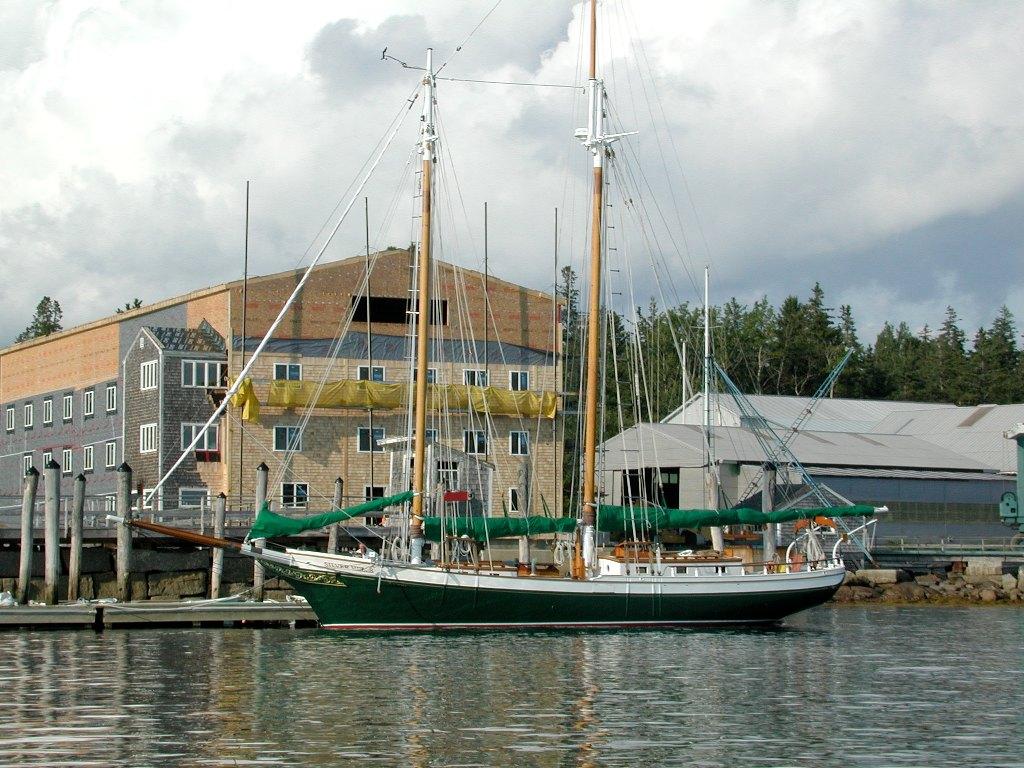 SILVER HEELS, a Coaster-type Peterson schooner.