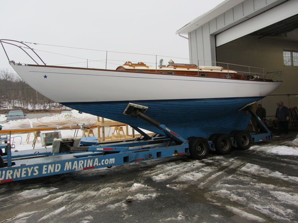 Jan. 2012: Concordia Yawl #26 left Maine for South Carolina.