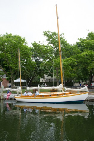 AIDA at her new home at Mystic Seaport, 2013