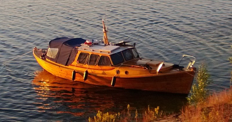 ANDROMEDA, a traditional Finnish fishing boat (fiskari)