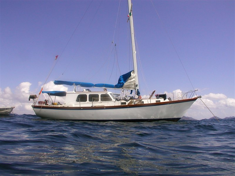 BALIZA, Alden Pilothouse sloop